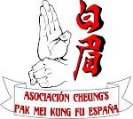 Logo Asociacion Cheung´s de Pak Mei Kung Fu, España