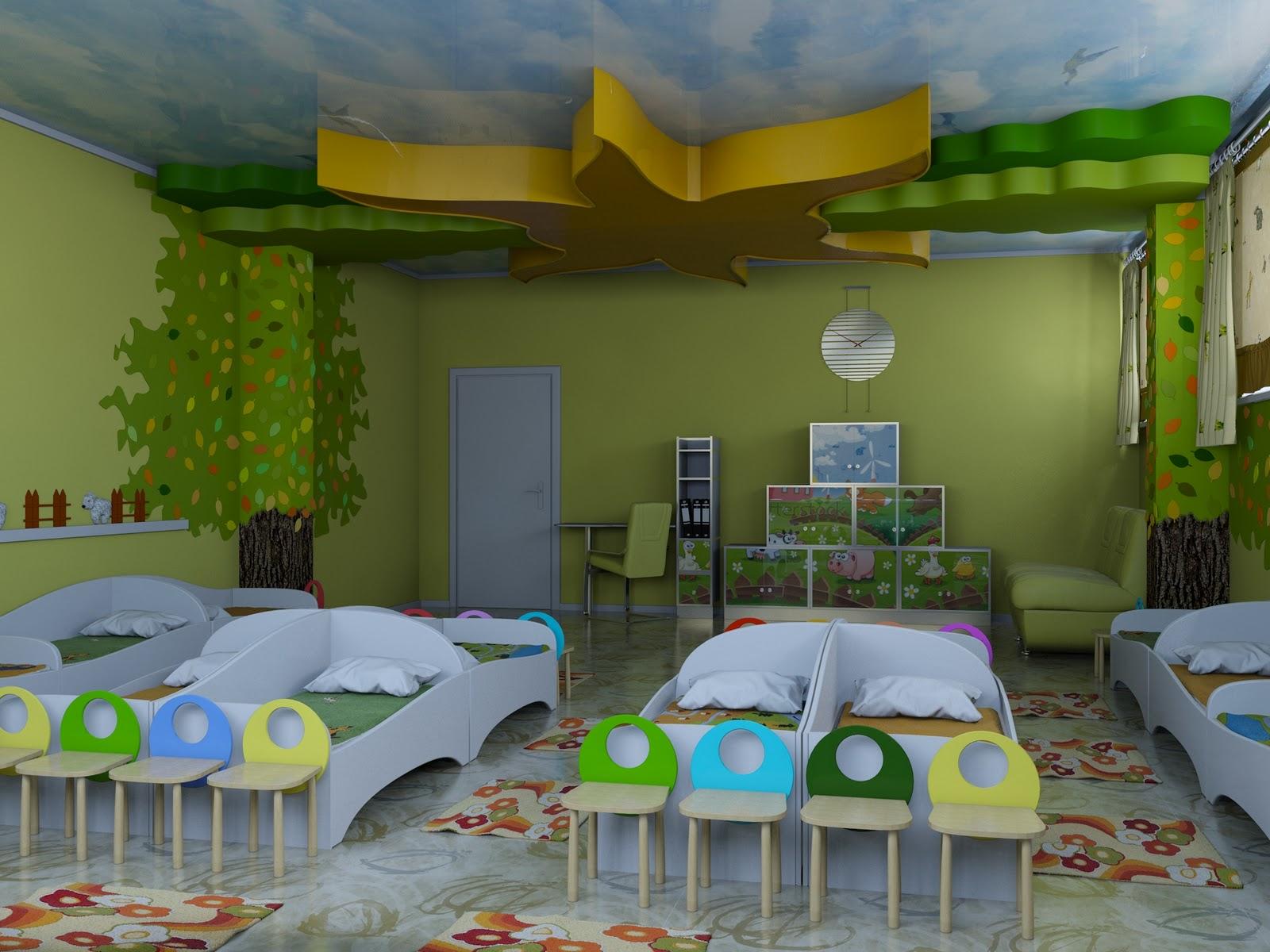 Проект детский дизайн в детском саду