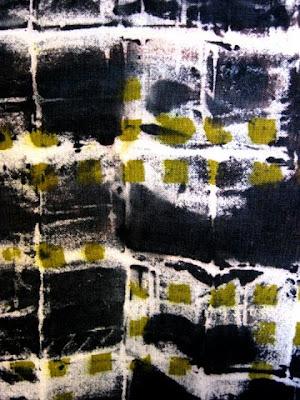 Dye printed fabric