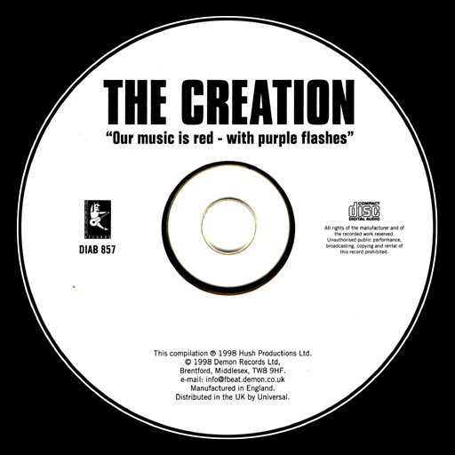 PHROCK Blog: The Creation - Our Music Is Red-With Purple Flashes ...