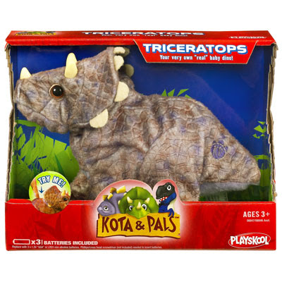 Playskool Dino Roars Hatchlings Triceratops Review