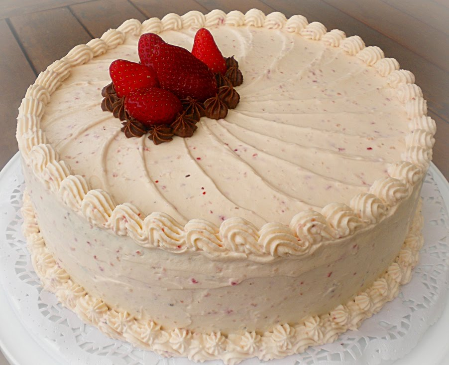 Cake With Cream Frosting : Heart of Mary: Two Special Cakes for Two Special Kids