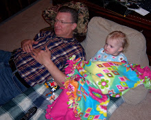 WATCHING TV WITH GRANDPA