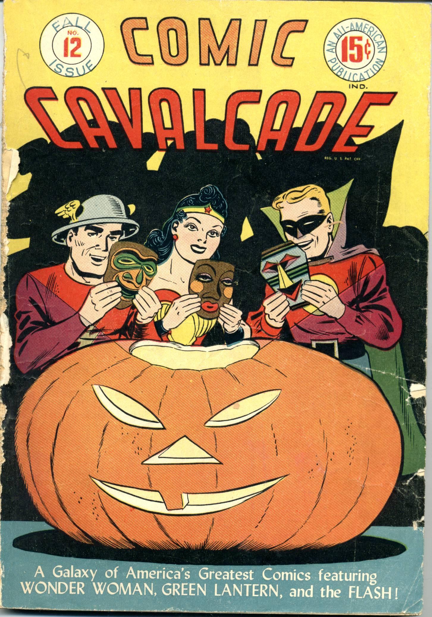 Comic Cavalcade 12 Page 1