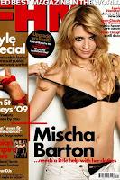 Mischa Barton sexy su FHM magazine