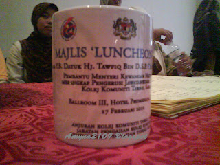 luncheon talk