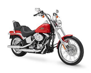Vintage Motorcycles Harley-Davidson Softail Custom FXSTC 2010