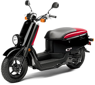 2010 New Classic Scooter Motorcycle Yamaha XF50 C-Cubed C3