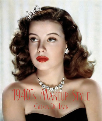 1940's 2010 , March makeup vintage  , makeup 1940's makeup all , fashion 0 consultant natural 12,