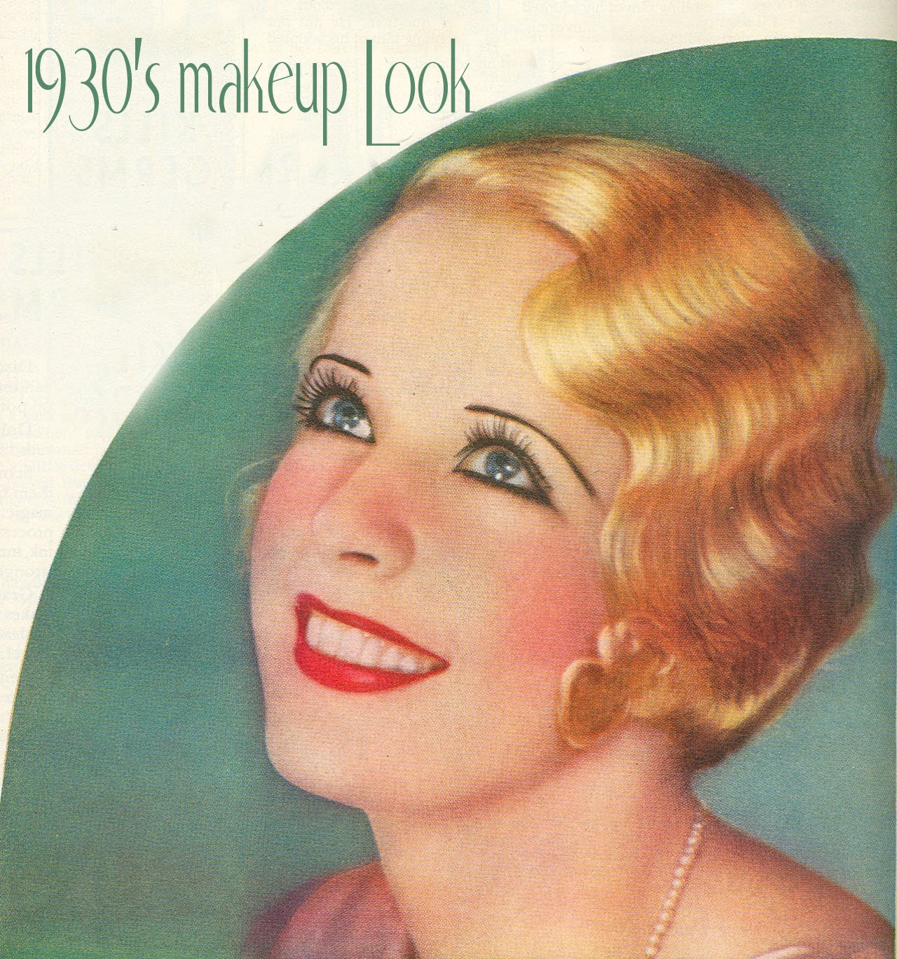 1930 год фото прическа