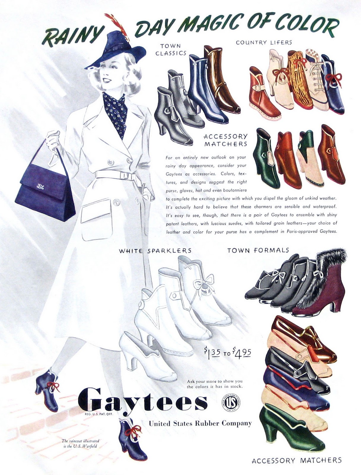 Galoshes And Dress Shoes