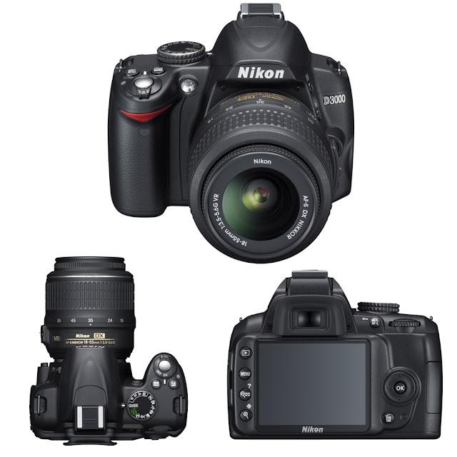 nikon d3000 body. Nikon D3000 Body Only Rs.