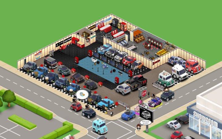 Car Town Garage Layout