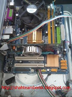 Tutorial 3 Memasang Graphic Card Pada Motherboard Komputer Anda