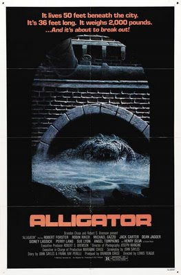 Alligator Theatrical Poster