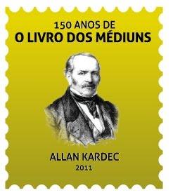 2011 - Selo 150 Anos de O LIVRO DOS MÉDIUNS