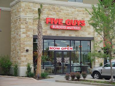 San Antonio Burger Blog Review 15 Five Guys Burgers