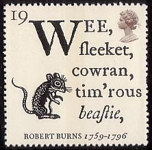 Robert Burns ~ 'To a Mouse'