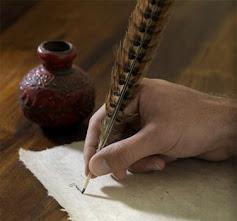 .. سأكتب حتى الروح تفارقني