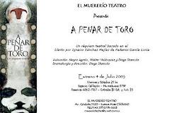 """""""A PENAR DE TORO"""""""