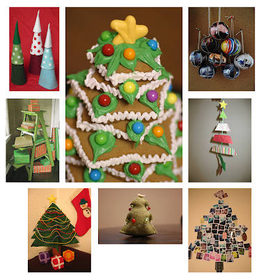 Crafty Christmas tree photos from Flickr