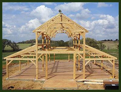Straw bale timberframe hybrid monitor barn timberframe for Monitor pole barn