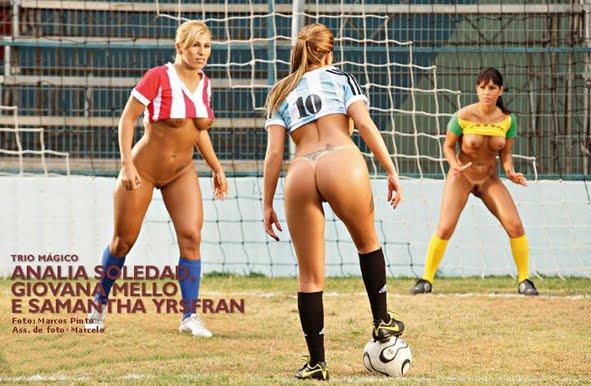 Football naked and their owners/o futebol nú e SEUS donos.