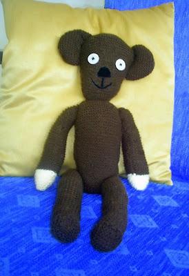 Knitting Addict: Mr Beans Bear