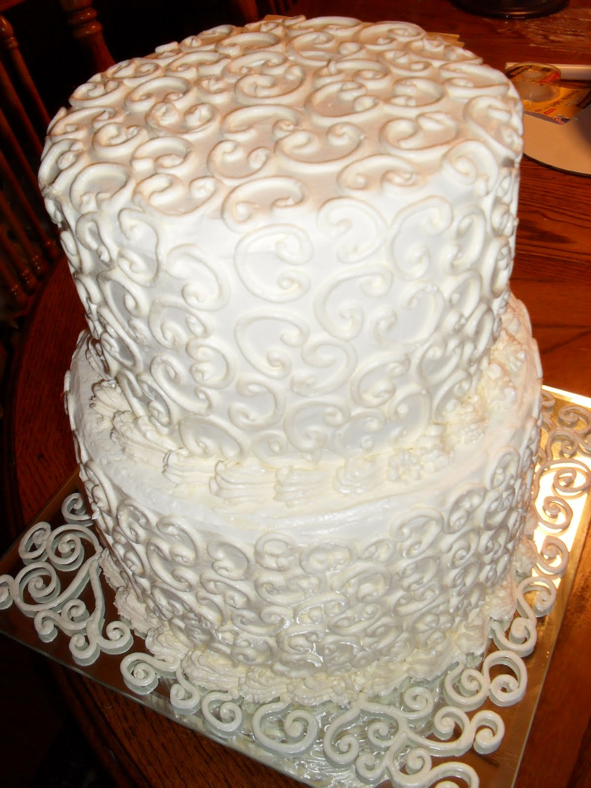 Brandi s Sweets Lace Wedding Cake