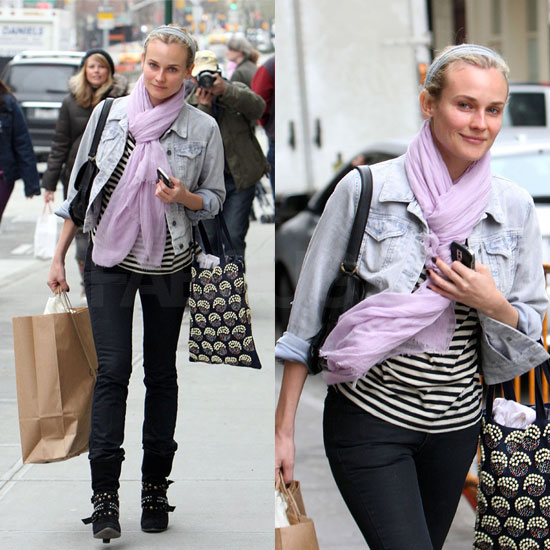 Naturally Stylish: Diane Kruger