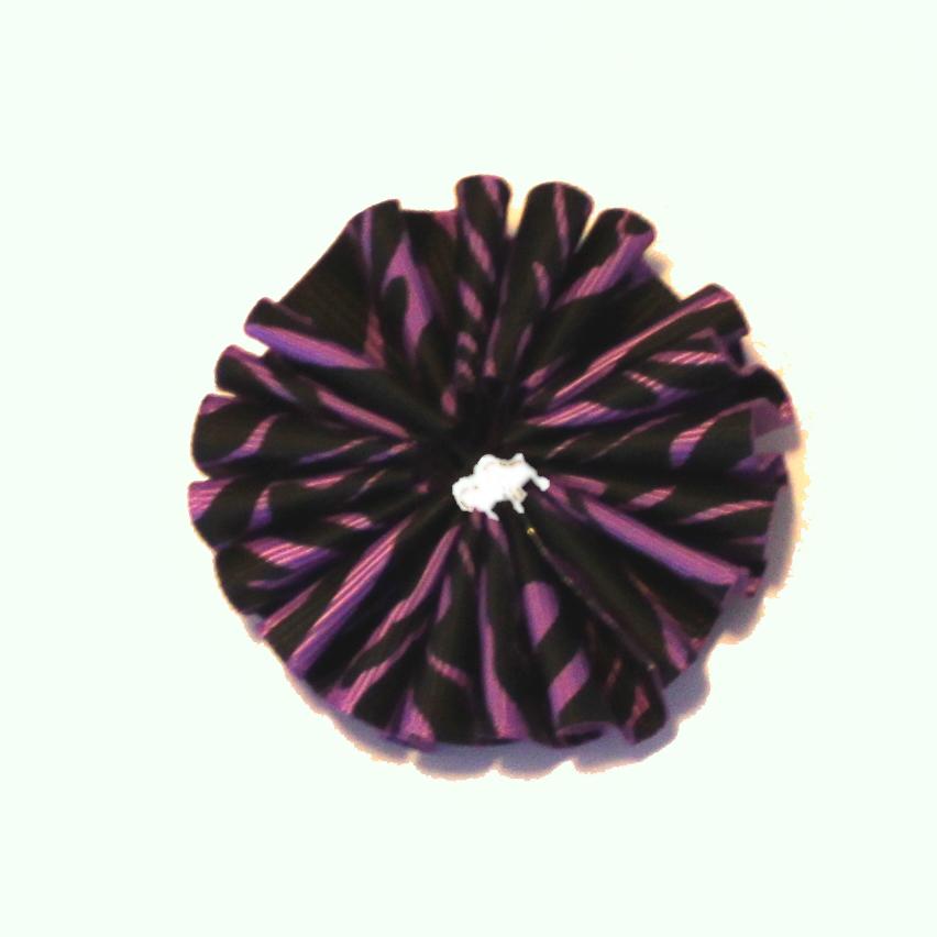 how to make ribbon ruffles
