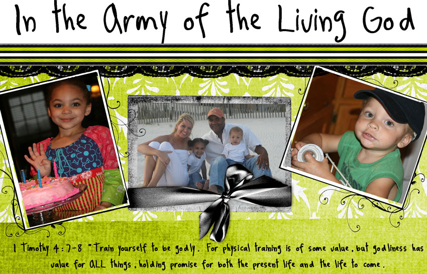 In the Army of the Living God
