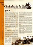 Boletín Nº 20 Ciudades de la Gente