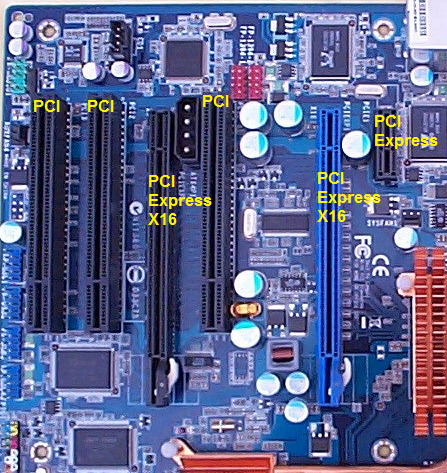 Slot de expansion pci