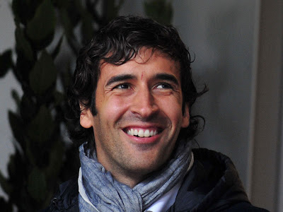 Raul Gonzalez is happy