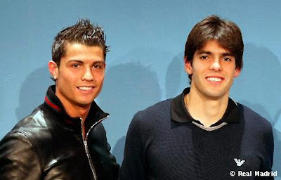 Kaka speaks about Ronaldo