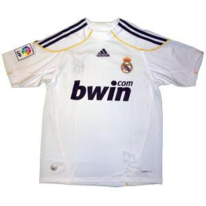 Real Madrid 2009/20010 Kit