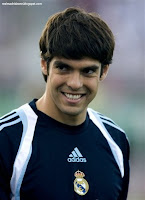 Kaka Real Madrid training
