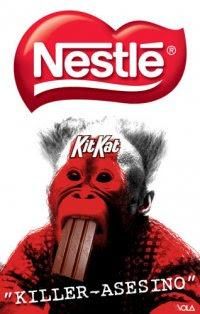 Nestlé Killer-asesino en Facebook