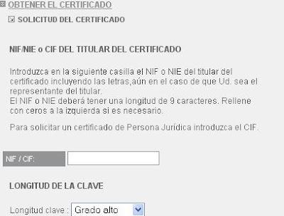 C mo obtener el certificado digital for Oficina electronica inem