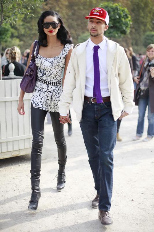 chanel iman boyfriend 2011. chanel iman boyfriend. Chanel Iman with Boyfriend