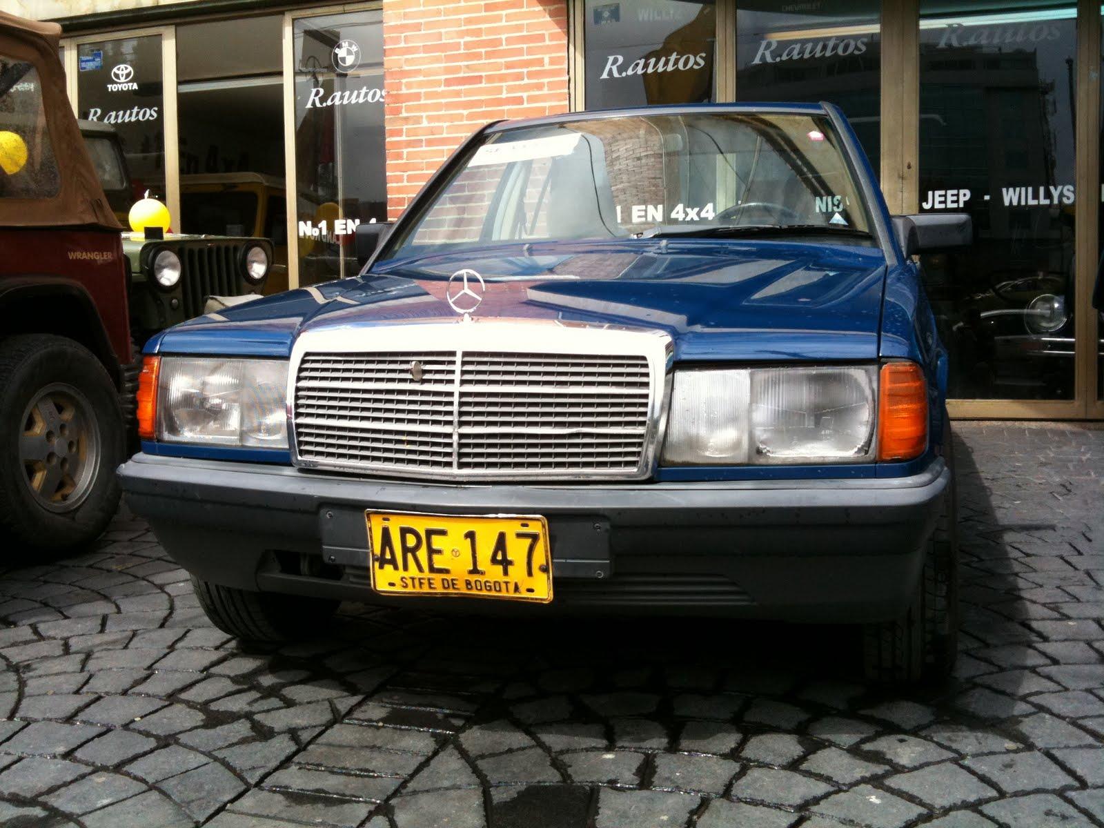 4x4 mercedes benz 190 e modelo 85 for Mercedes benz modelos