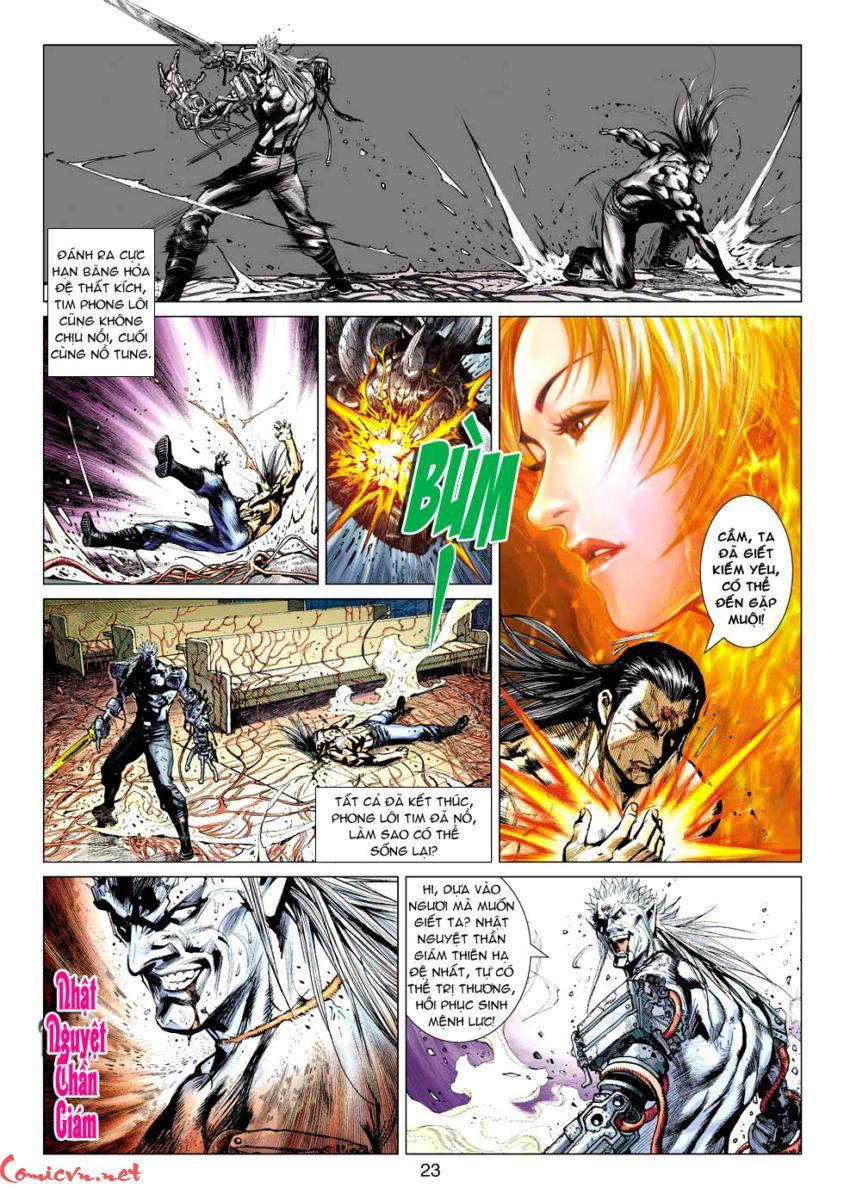 Vương Phong Lôi 1 chap 60 – Kết thúc Trang 22 - Mangak.info