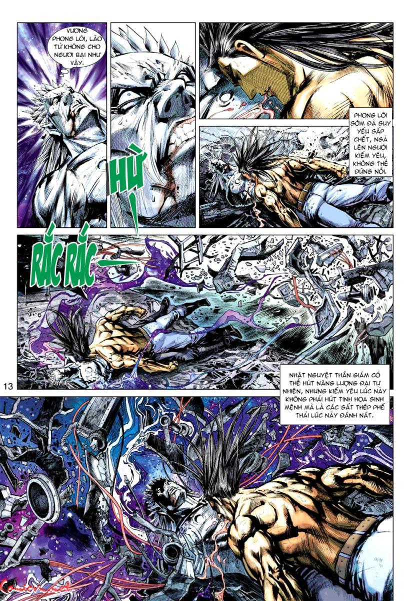 Vương Phong Lôi 1 chap 60 – Kết thúc Trang 12 - Mangak.info