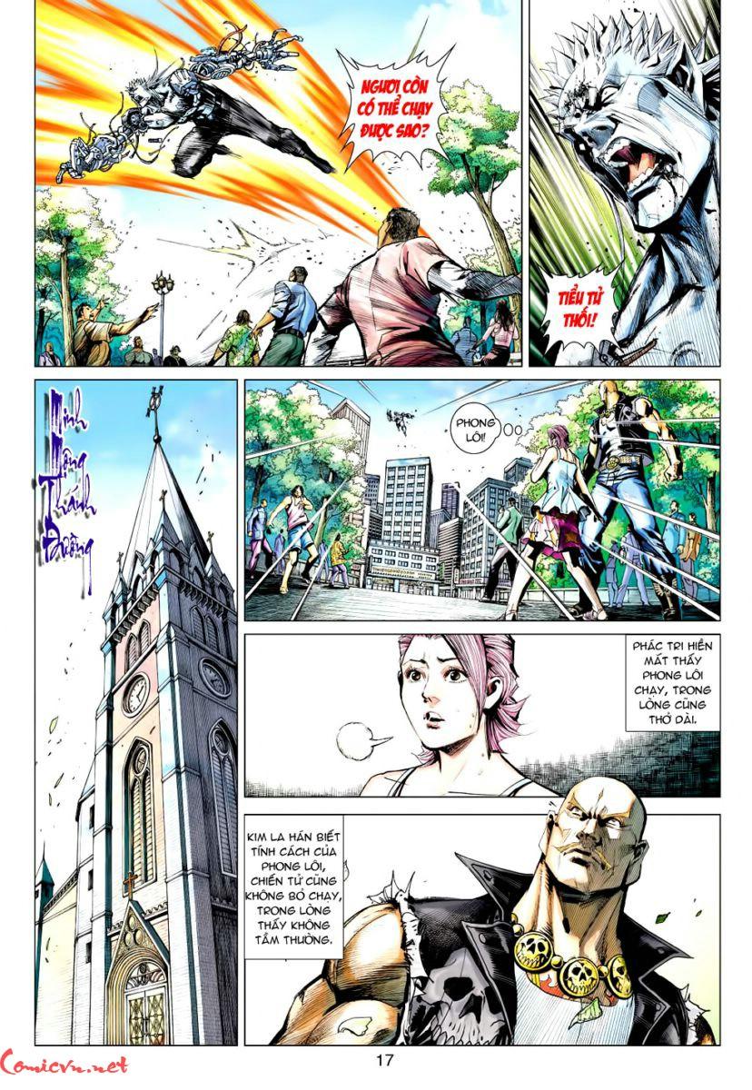 Vương Phong Lôi 1 chap 60 – Kết thúc Trang 16 - Mangak.info