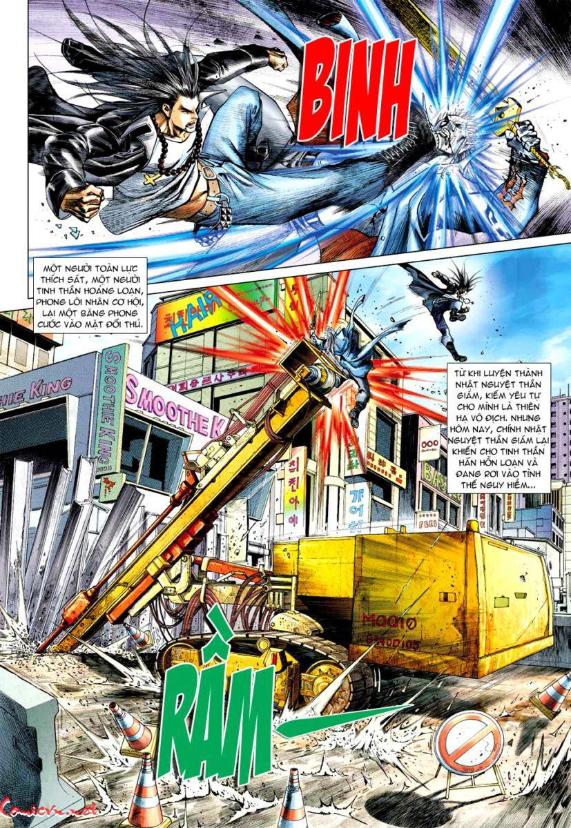 Vương Phong Lôi 1 chap 57 - Trang 9