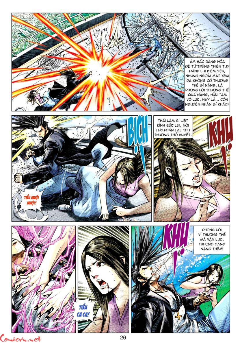Vương Phong Lôi 1 chap 59 - Trang 25