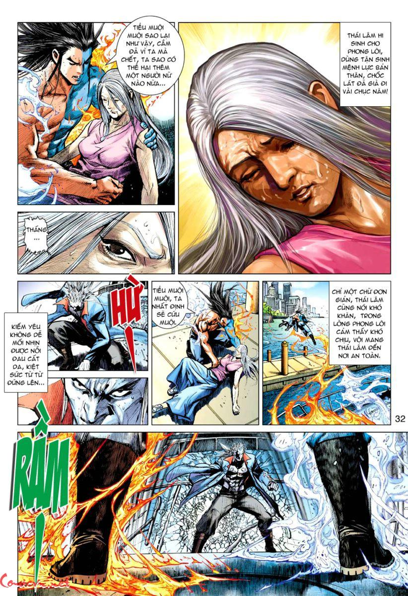 Vương Phong Lôi 1 chap 59 - Trang 31