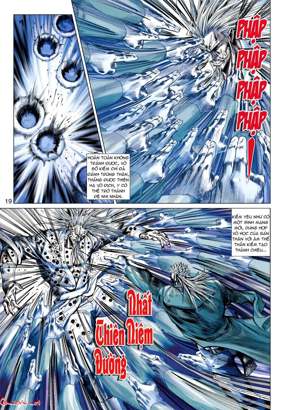 Vương Phong Lôi 1 chap 49 - Trang 20