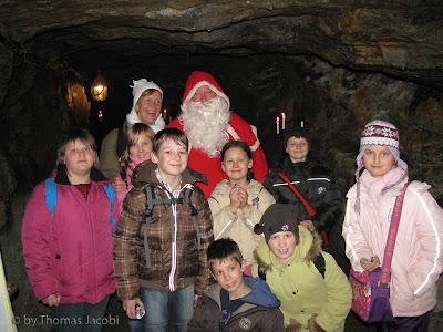 Weihnachtsfeier im Markus-Röhling-Stolln